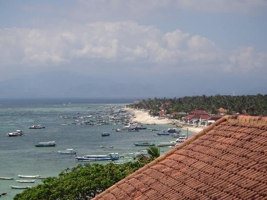 Lembongan Beach Villas Resort: view from villa 6