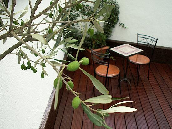 Boutiquehotel Berial: Terrasse