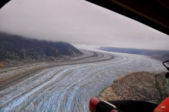 TEMSCO Helicopters - Skagway: Gletscher beim Anflug