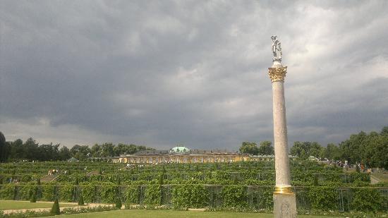 Charlottenhof Castle : gardens
