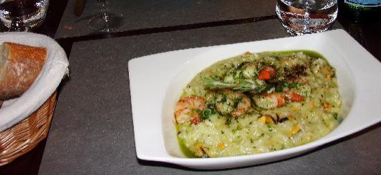 La P'tite Cocotte: Sea food risotto