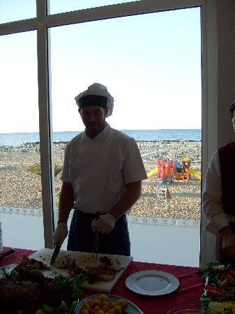 Hotel Imperial Beach: Chef Davide Frisoni