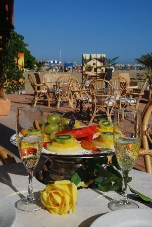 Hotel Imperial Beach: Terrazza privata sulla Spiaggia!