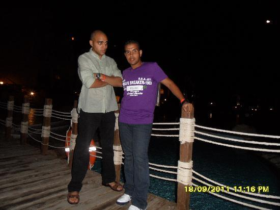 Rixos Sharm El Sheikh: bridge front of my room