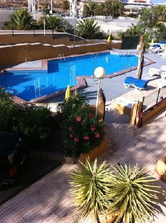 PlayaOlid Suites & Apartments: vista desde habitacion