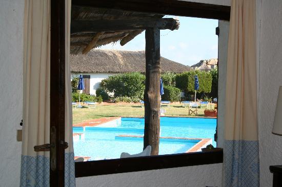 Club Village Forte Cappellini: Vista della piscina dalla nostra stanza