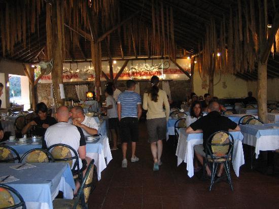 Club Village Forte Cappellini: Sala cena
