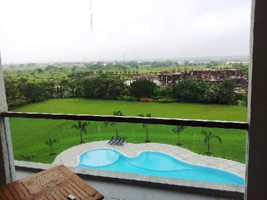 Rajkot, India: View of the Pool from Balcony