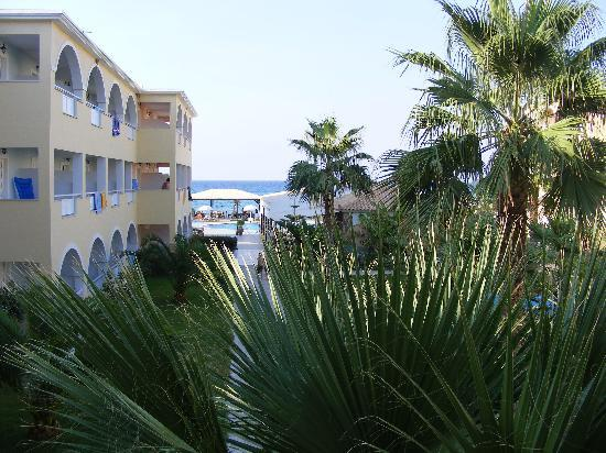 Alykanas Beach Apart-Hotel: The view from our room 212