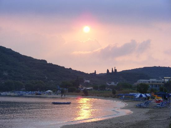 Alykanas Beach Apart-Hotel: The sun rising early morning