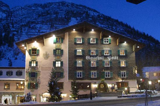 Gasthof Post Hotel : Hotel Gasthof Post - Lech am Arlberg
