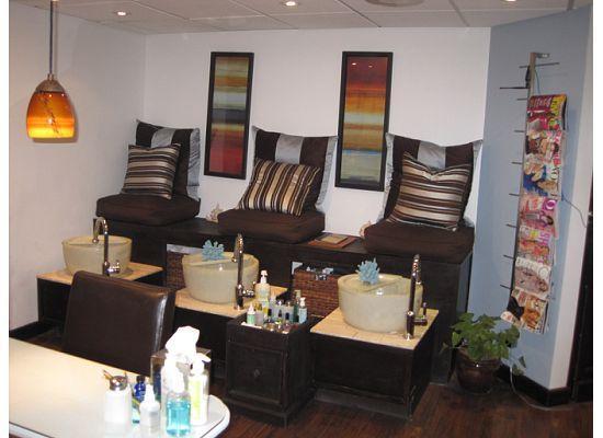 Hilton Santa Barbara Beachfront Resort: pedicure/hair salon