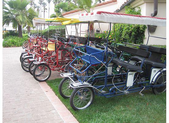 Hilton Santa Barbara Beachfront Resort: Bike Rental
