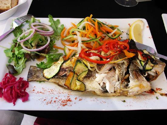 La Belle Excuse : Already ate a bit, but this is sea bream