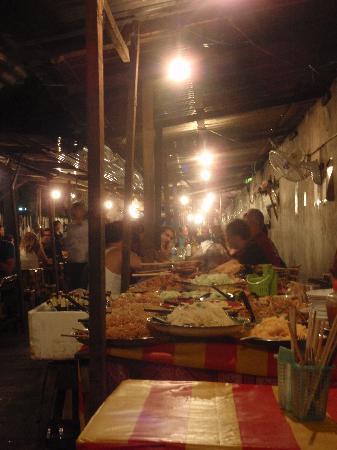 Luang Prabang Night Market: night market
