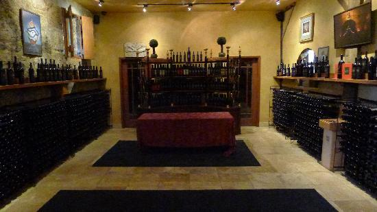 Del Dotto Vineyards & Winery: A reserve wine area