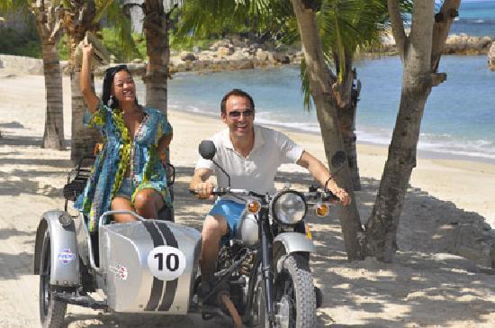 Sanya Sidecars: Beach Crusing