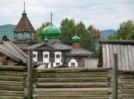Taltsy Museum : Eglise Russe Orthodoxe