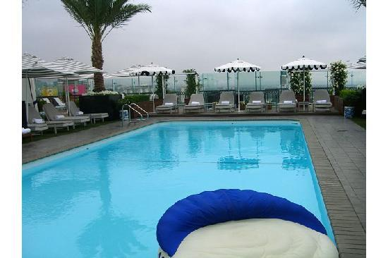 โรงแรม เดอะ ลอนดอน เวสต์ ฮอลลีวูด: Rooftop pool