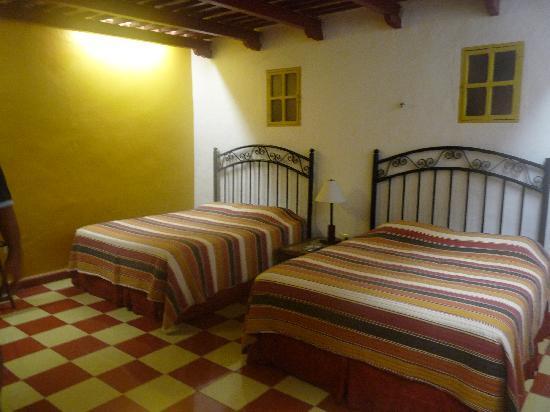 Luz En Yucatan: camas dobles
