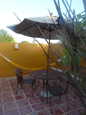 Luz En Yucatan: terraza