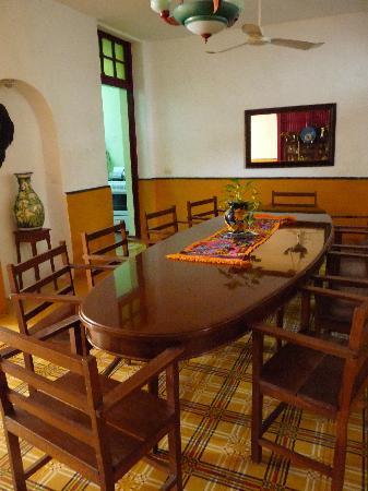 Luz En Yucatan: comedor