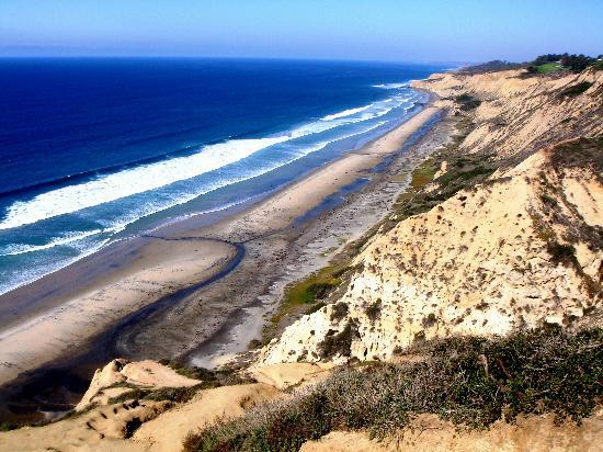 Coastal San Diego Tours to La Jolla & Torrey Pines with TourGuideTim: Black's Beach a La Jolla