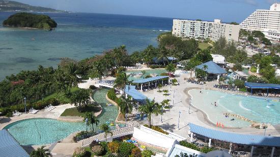 Onward Beach Resort: 部屋からの眺め