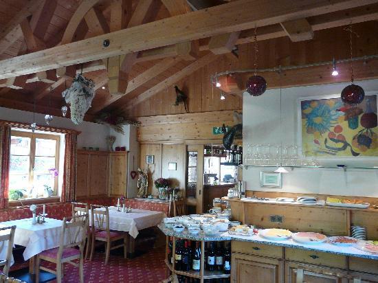 Genusshotel Das Sonnbichl: Salle des repas en demi-pension