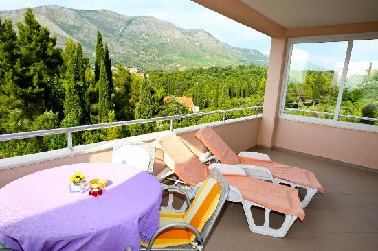 Villa Ana: suitable for families or two couples