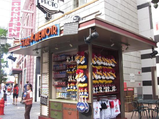 ยูนิเวอร์ซัล สตูดิโอ สิงคโปร์: Woody Wood Pecker Stall