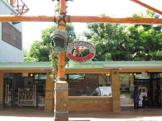 ยูนิเวอร์ซัล สตูดิโอ สิงคโปร์: Jurassic park Novelty souvenir shop