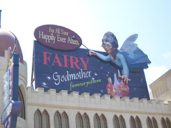 ยูนิเวอร์ซัล สตูดิโอ สิงคโปร์: Fairy Godmother
