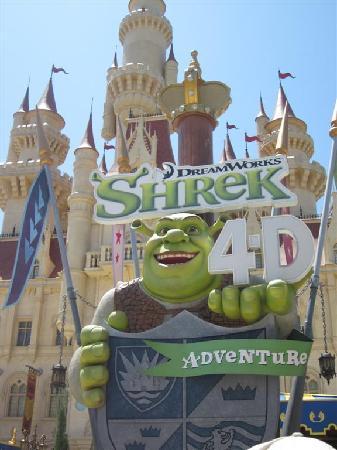 ยูนิเวอร์ซัล สตูดิโอ สิงคโปร์: Shrek in 4D