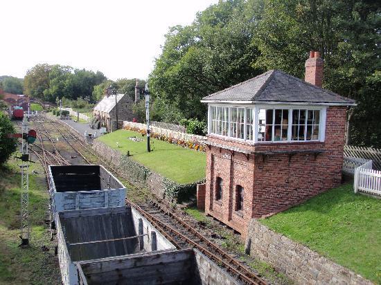 Beamish Museum: Railway Station and Signal Box