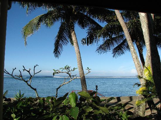 Fiji Hideaway Resort & Spa: The view from our Bure