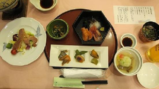Kyukamura Noto-Chirihama: 千里浜定食