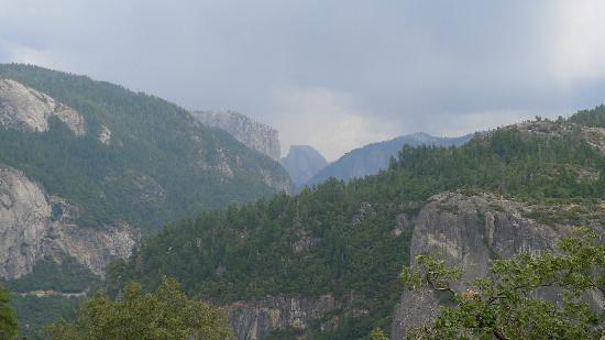 View of Half Dome and Valley from the Tunnel Viewpoint