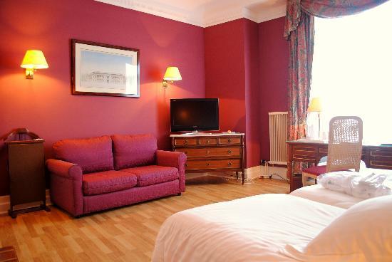 Carlton Hotel: Chambre Twin