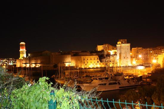 Sofitel Marseille Vieux-Port: View from the room at night