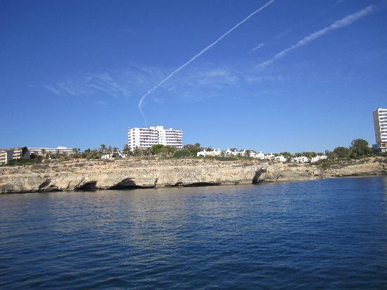 Palia Maria Eugenia Hotel: Ride on the boat.