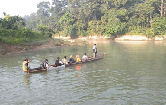 River View Jungle Camp: rvjc boating