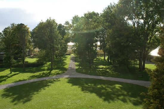 Padaste Manor: Blick vom Zimmer