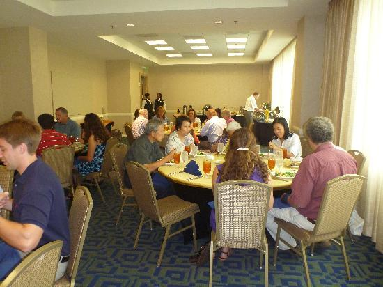 Georgia Tech Hotel and Conference Center: Feasting at luncheon celebration the following day