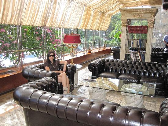 Hotel Ambasadori: В холле