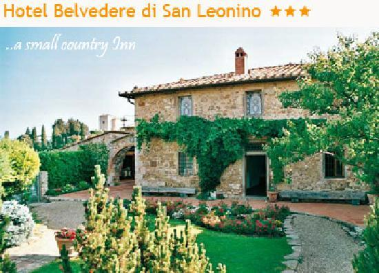 ‪‪Hotel Belvedere Di San Leonino‬: Typical Country Chianti Hotel‬