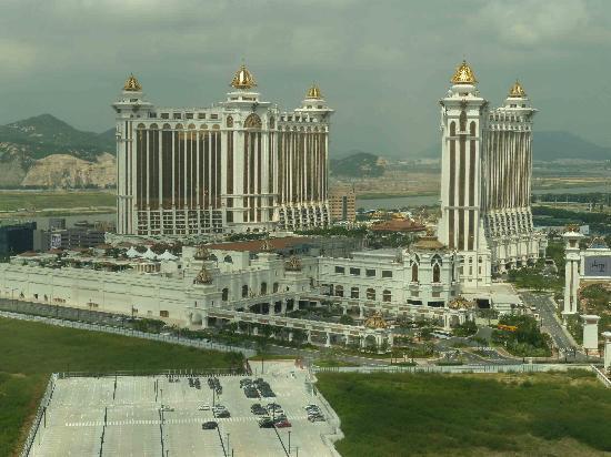 โรงแรมเดอะเวเนเชี่ยน มาเก๊า รีสอร์ท: View from our window