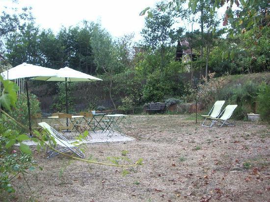 "Les Cypres: ""Rural"" garden..."