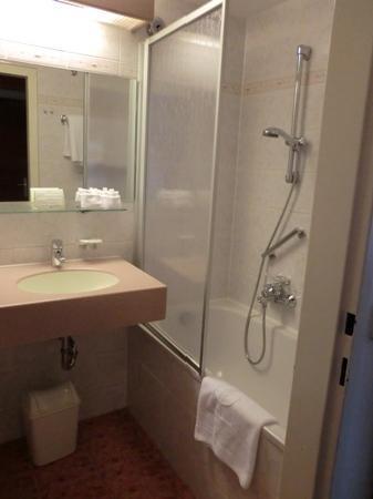 Hotel Am Parkring: バスルーム