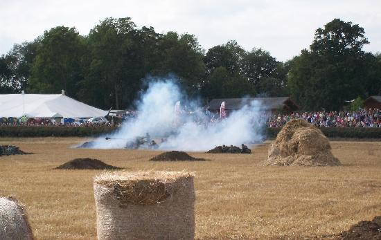The Victory Show: The WW2 re-enactment battle.